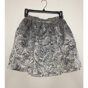 Bebe - Gold Mini Skirt